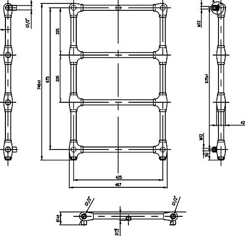 Zehnder Stalox LVCWC-75-47